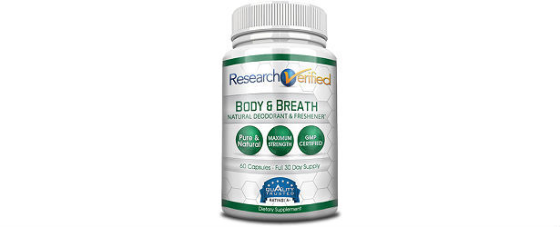 Research Verified Body and Breath Natural Deodorant Review